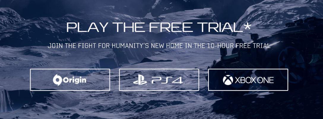 Mass Effect: Andromeda Trial disponible para todos