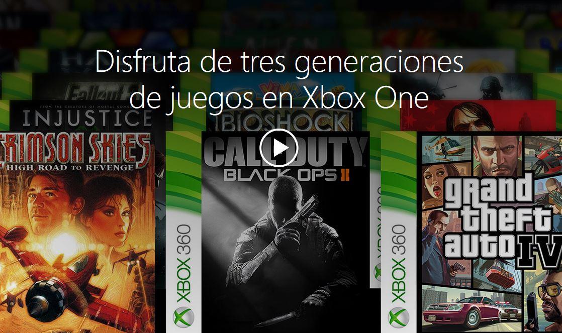 Juegos retrocompatibles con Xbox One / Xbox One Backward Compatibility